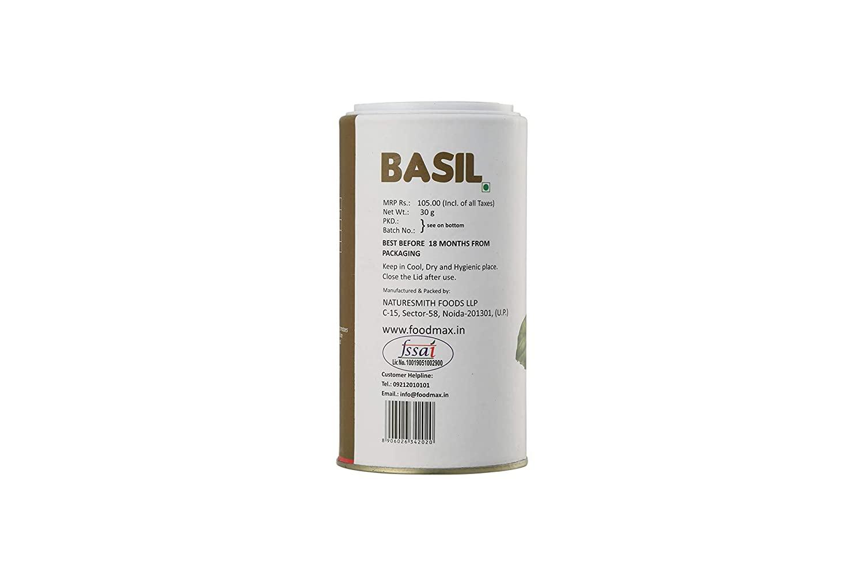 Naturesmith Basil Big CAN, 30g
