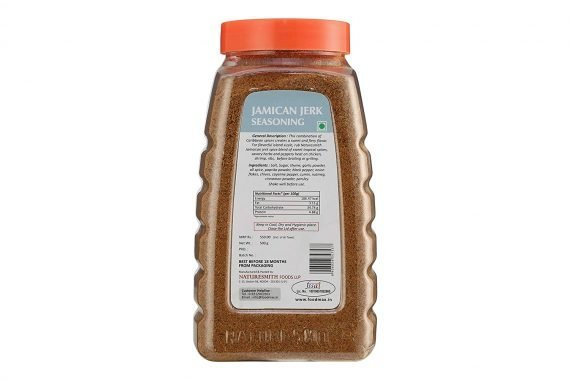 Naturesmith Jamaican Jerk Seasoning, 500g