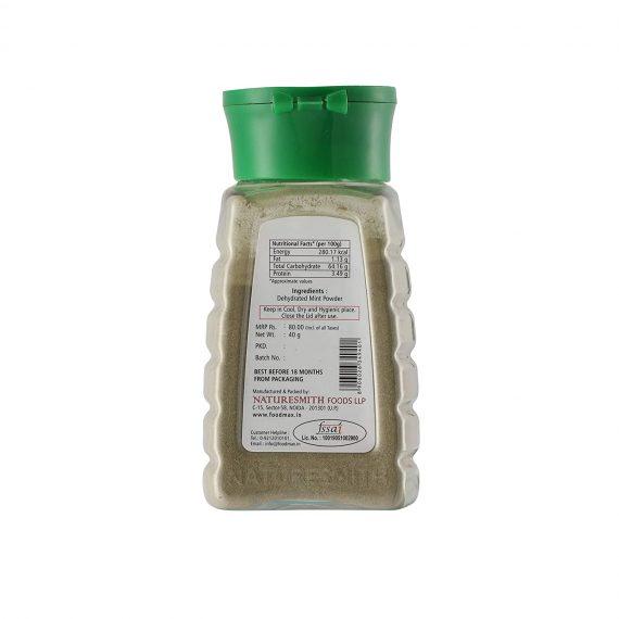 Naturesmith Mint Powder, 40g
